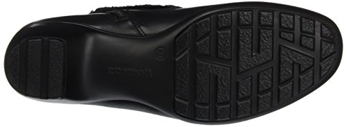 Romika Damen Banja 12 Kurzschaft Stiefel Schwarz (schwarz 100)