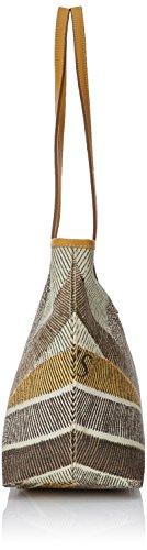 Gattinoni Gacpu0020055, Borsa a Spalla Donna, 13x24.5x31 cm (W x H x L) Beige (Deserto)