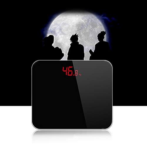 Intelligente Waage Gesundheit Genaue Gewichtsmessungen Mit Automatischer Abschaltung, LCD Bildschirm, Mehrpunktsensor, Warnung Vor Unterspannung/Überlast Personenwaage