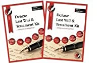 2 X DELUXE LAST WILL AND TESTAMENT KITS!!....The Best Selling and Acclaimed, Brand New and Sealed Latest Edition, direct from Publisher in England,