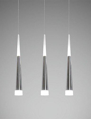 SDYJQ Pendelleuchten LED Modernen/zeitgenössischen Esszimmer/Küche/Studie/Büro/Kinder Metall/lange Haube, warm-weiss -90-240 v M 5290
