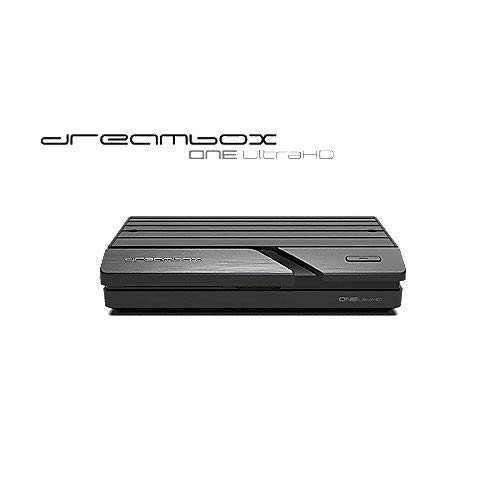 Dreambox One Ultra HD 2x DVB-S2X Multistream Tuner (4K, 2160p, E2 Linux, Dual Wifi H.265, HEVC) (Wifi-sd-reader)