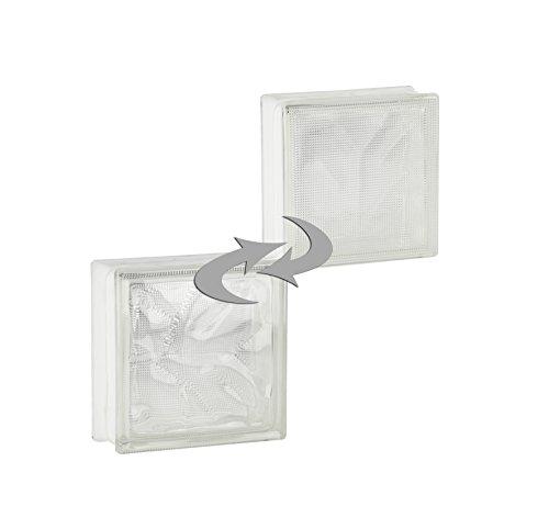 5-pieces-fuchs-glass-blocks-diamond-clear-19x19x8-cm