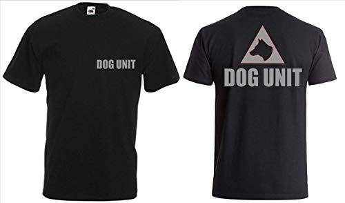 Generic Hunde-T-Shirt K9 Unit Top Hoodie Silber Logo K9 Handler Bekleidung Top Hoodie 100% Baumwolle - XXL -