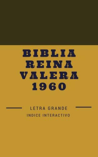Biblia Reina Valera 1960: Letra Grande eBook: Anonimo, Ignacio ...