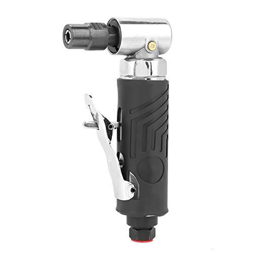Akozon Pneumatische Grinder Polierer AG-315 1/4BSP Pneumatische 90 Grad Winkelschleifer Luftschleifwerkzeug