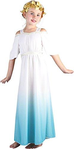Imagen de niños fancy club fiesta semana disfraz de día, niñas romanos diosa griega white uk