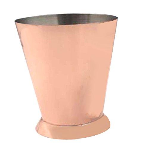 Sharplace Edelstahl Moskau Maultier Heißer Getränk Kaffee Schokoladen Tee Becher Reisebecher - Rosegold, 83 x 72x 95mm Barrel Mug