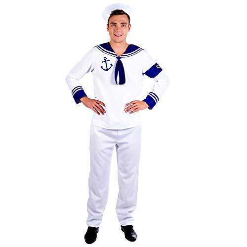 Fun Shack Herren Costume Kostüm, Mens Sailor, L