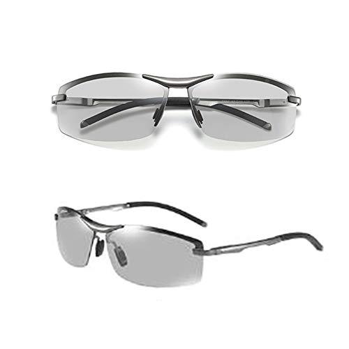 Polarisierte Sonnenbrille Metallrahmen Ultra Light Fashion 100% UV-Schutz