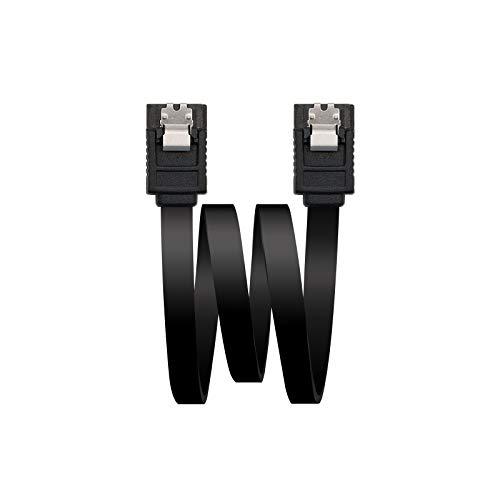 NANOCABLE 10.18.1001-BK - Cable SATA III Datos 6G