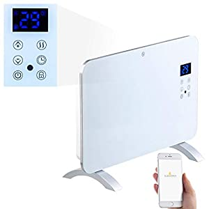 Sichler Haushaltsgeräte Konvektorheizung: Konvektor-Heizung mit App, für Amazon Alexa & Google Assistant, 1000 W (Heizkonvektor)