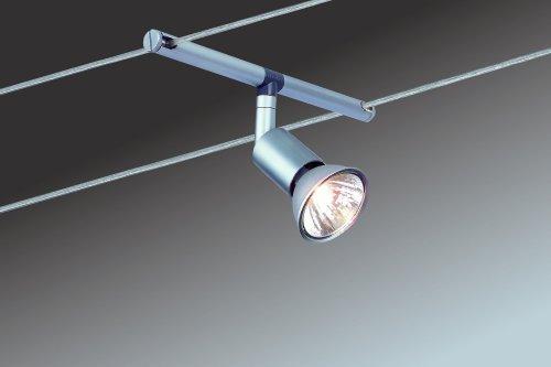 Paulmann 97251 Wire System Spice Salt 105 5x20W GU5,3 Chrom matt 230/12V 105VA Metall - 2