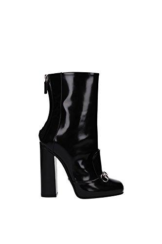 Tronchetti & Stivaletti Gucci Donna Pelle Nero 363803CLG001000 Nero 37EU