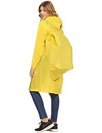 leichte regenjacke damen durchsichtig
