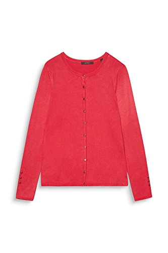 ESPRIT Collection Damen Strickjacke Rot (Berry Red 625)