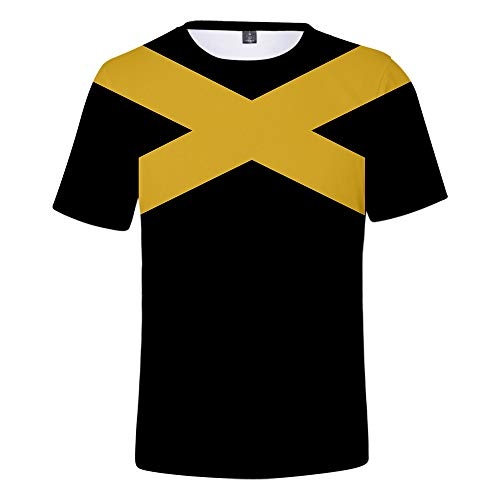 X-Men: Dunkler Phönix Bedrucktes T-Shirt Top Hoodie Baseball Jacke Hosen Set Rollenspiel Party Kostüm Geeignet Für Männer Und Frauen ()