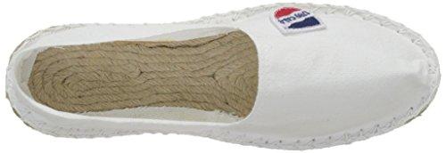 Cala Unisex-Erwachsene Classique Espadrilles Weiß (Weiß)