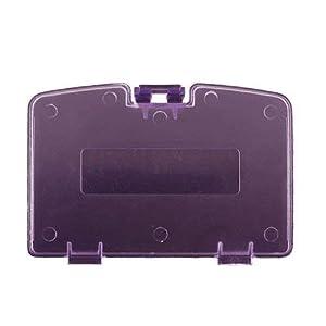 Childhood Clear Atomic Lila Batterie Tür Deckel Deckel Reparatur für GBC Gameboy Color Console