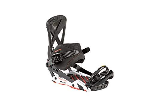 Nitro Snowboards Herren Phantom Carver Bdg'19 Premium Freeride Freestye Highend Carving Snowboardbindung Carbon Bindungen, Mehrfarbig, M -