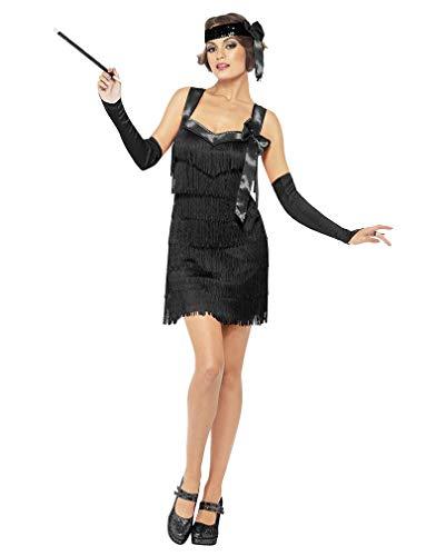 Baker Kostüm Josephine - Horror-Shop Flapper Foxy Kostüm M 40-42