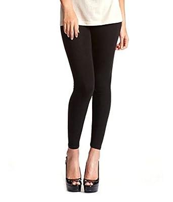 Trigger Womens Cotton Leggings (Black)