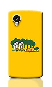 Merchbay Back Cover for Nexus 5 (Multicolor) [Electronics]