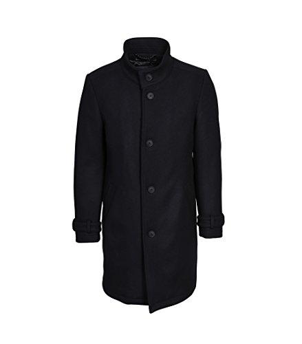 drykorn herren mantel Drykorn Herren Wollmantel Onnex in Schwarz 1000 Black 48