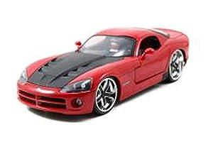 Jada Toys-Coche en Miniatura de colección, 96805r _ M5, Rojo/Negro