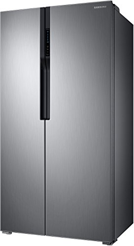 Samsung 604 L Side by Side Refrigerator (Refined Inox-Matt Doi Metal, RS55K5010S9/TL)
