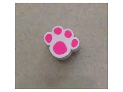 t Handwerk Marshmallow Form Weichen Ton Telefon Fall Ornamente GummibänderDecoration für DIY (Pink) Micro DIY Zubehör (Farbe : Rosy, Größe : 1.5x1cm) ()