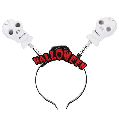 Weihnachten, Halloween, Erwachsene, mit Lichtleiste, Party, Urlaub, DIY-Dekoration Skelett ()