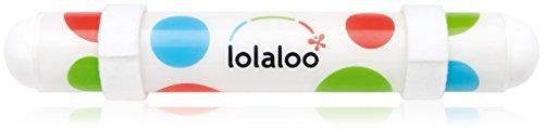 lolaloo Kinderwagenschaukler, Einschlafhilfe für Babys, schaukelt jeden Kinderwagen, weiße...