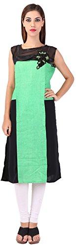 Only Colours Women's Cotton/georgette Regular Fit Kurta