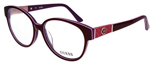 Guess Gestell GU2298 55F18 (55 mm) pflaume