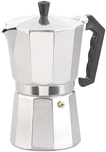 Cucina di Modena Espresso-Kännchen: Espresso-Kocher für 9 Tassen, 400 ml, für Gas- & Eletroherde geeignet (Mokka-Kaffeekanne)
