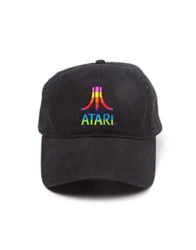 Atari Cap Multi Color Logo Black