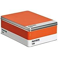 Seletti, Pantone 165, -Scatola In Metallo, Arancione,