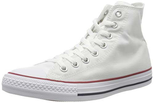 Converse AS HI CAN OPTIC. WHT M7650 - Botines de lona unisex, color blanco, talla 37.5