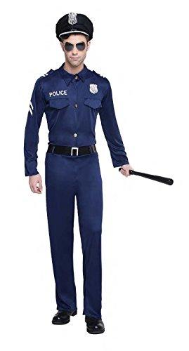 Imagen de disfraz policia talla m/l tamaño adulto