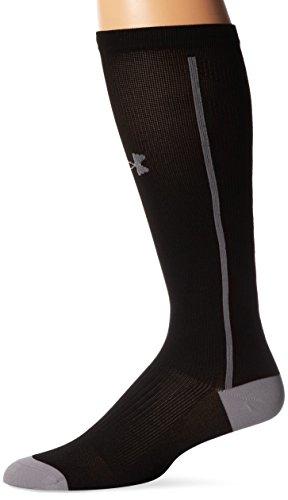 Under Armour Herren Sportswear Socken und Strümpfe UA Circulare OTC II, Black, M, 1257829 (Under Baseball-socken Armour)
