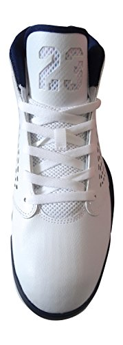 Nike Jordan Flight 2015 Herren Basketballschuhe white midnight navy wolf grey 107
