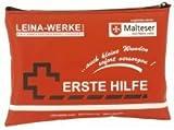 LEINA Mobiles ErsteHilfeSet, 24teilig, Nylon, rot
