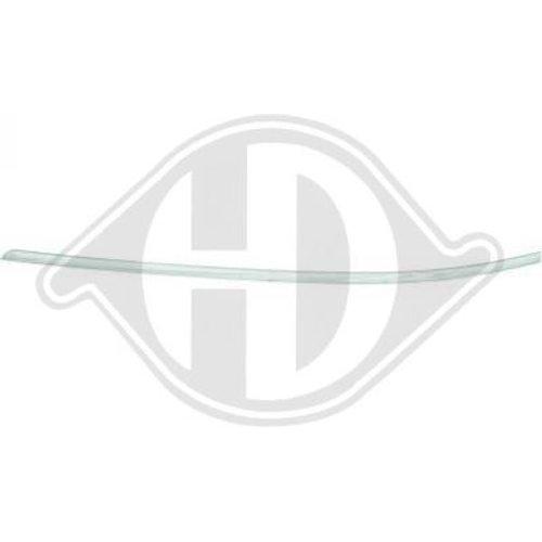 Baguette et bande protectrice, pare-chocs pour Mercedes A-Classe W169 08->> Côté d'assemblage: avant gauche