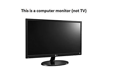 LG 19-inch (48.26 cm) HD Ready Office Monitor, TN Panel with VGA, HDMI Ports - 19M38HB (Black)