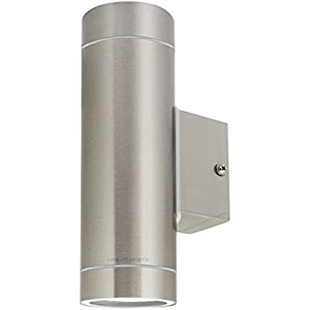 Good Stainless Steel Double Outdoor Wall Light IP65 Up / Down Outdoor Wall Light
