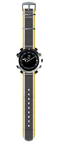 Cogito CW2.0-021-01 Smartwatch - Silicone + Nylon - Silver Arrow