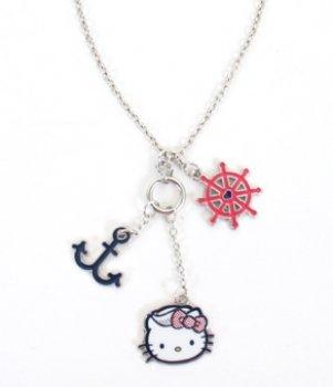 o Kitty–New Sanrio Nautisches Geschenke Anime Lizenzprodukt sann0060 (Nautische Halskette)
