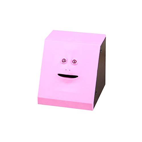 Ballylelly-Geld Essen Face Box Cute Facebank Piggy Coins Bank Lustige Geld Coin Box