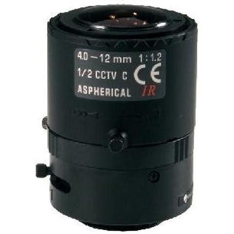 'a04z12m de Eneo NFS, F1.2/4–12mm objetivo/var. Focal con enfoque de constantes anthaltung, 1/2C